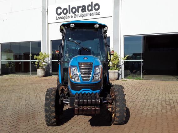 Trator Ls R60c 4x4 Redutor E Cabine Original-ano 2016