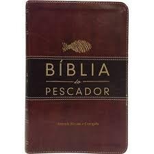 Bíblia Pescador Gd Lx Vinho Nob / Marrom Escuro