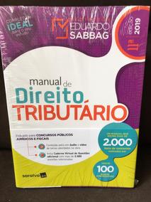 Manual De Direito Tributario - Eduardo Sabbag 2019