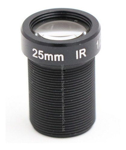 Lente 25mm 5mp Cctv M12 1/2 S/ Filtro Ir Câmera Segurança