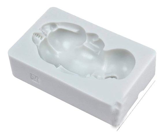 Molde Silicona Bebe Fondant Porcelana Souvenir