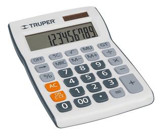 Calculadora 19 Cm De Escritorio Truper 60482