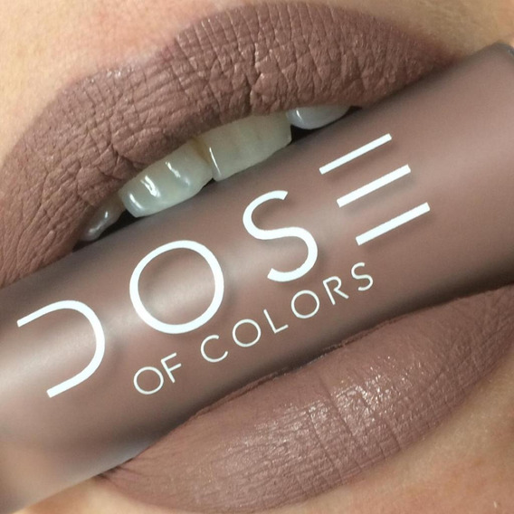 Labial Indeleble Mate Dose Of Colors Nude Desert Suede