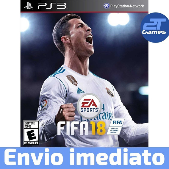 Fifa 18 Ps3 Psn Jogo Digital Envio Rápido