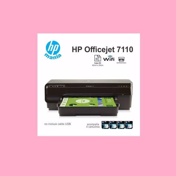 Impressora Hp Officejet 7110 A3 Wifi/bivolt Original