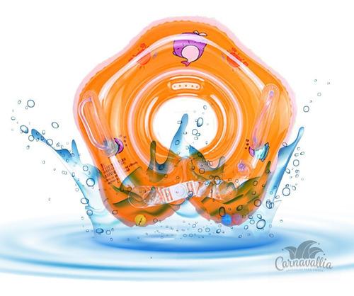 Imagen 1 de 6 de Flotador Inflable Bebé Salvavidas Cuello Flotis Alberca Play