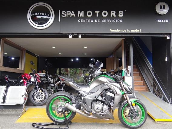 Kawasaki Z1000 Verde