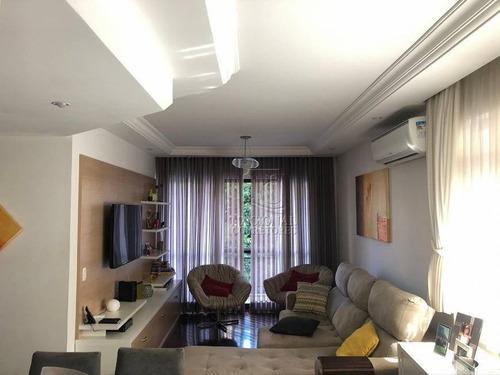 Apartamento Com 3 Dormitórios À Venda, 110 M² Por R$ 580.000,00 - Campestre - Santo André/sp - Ap11804