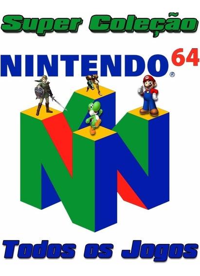 Super Pack Nintendo 64 Jogos + Emulador Pc