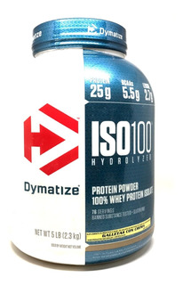 Proteina Dymatize Iso 100 5 Lb (2.3 Kg) 100% Aislado De Proteina De Suero De Leche Hidrolizada