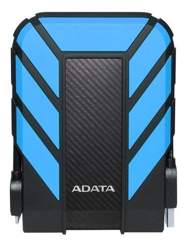 Imagen 1 de 3 de Disco duro externo Adata HD710 Pro AHD710P-1TU31 1TB azul