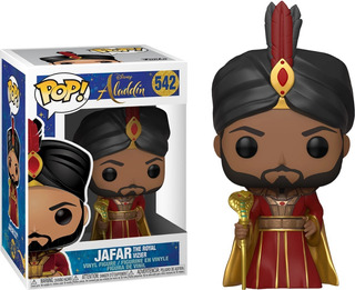 Funko Pop Jafar 542 Aladdin Disney Cabeza Oscilante