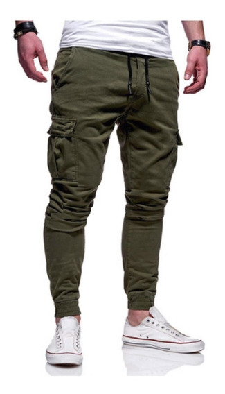 Pantalon Jogger Cargo Chupin Slim Fit Had Work Premium