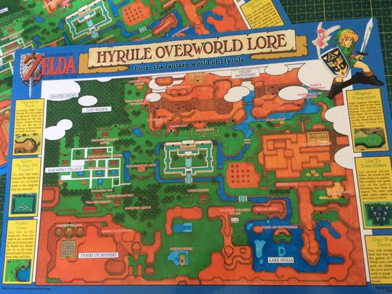 The Legend Of Zelda Mapa