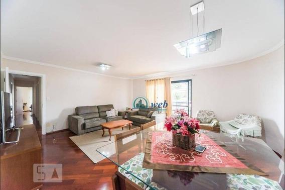Amplo Apartamento Com 4 Dormitórios À Venda, 143 M² Por R$ 689.000 - Vila Guiomar - Santo André/sp - Ap2242