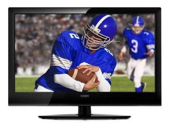 Tv Hd Led/monitor 19 Marca Coby Como Nuevo