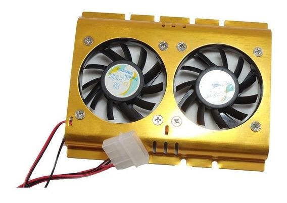 Cooler Para Hd C/ 2 Ventiladores
