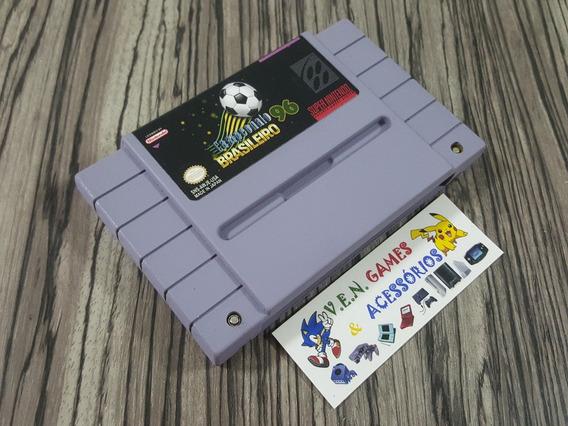 Campeonato Brasileiro 96 Snes + Garantia!!!!!!