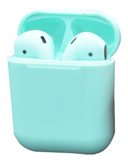Verde I12 Toque Tws Bluetoothfree Headset 5.0 Esportes Carre