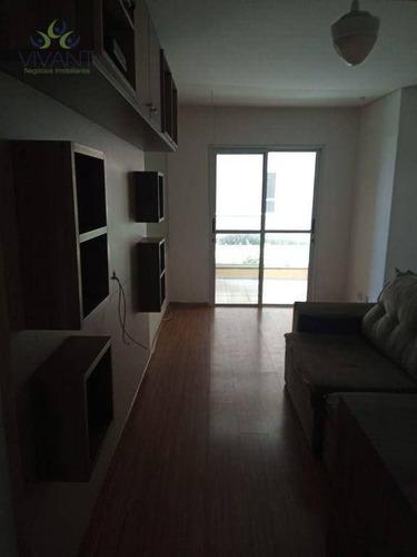 Imagem 1 de 30 de Apartamento Com 3 Dormitórios À Venda Por R$ 380.000,00 - Vila São Francisco - Suzano/sp - Ap0409