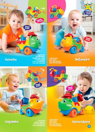 Caminhão Diver For Baby Coleção Construção Diver Toys