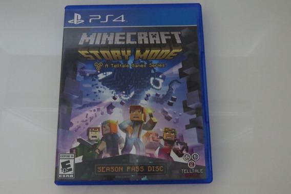 Minercraft Ps4 Playstation 4 Midia Fisica
