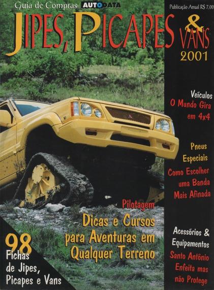 Autodata Guia De Compras Jipes Picapes & Vans 2001