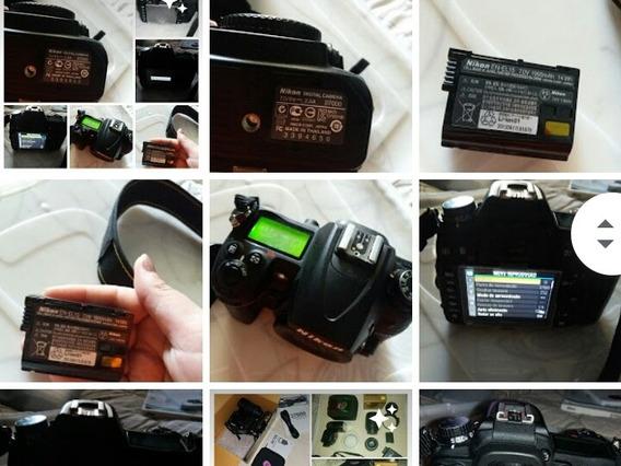 Câmera Nikon D7000+lente 18-105mm + Lente 50 Mm 1.8+bateria