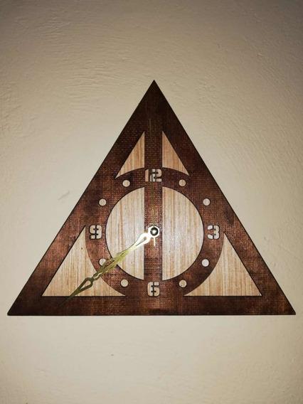 Reloj Madera Harry Potter
