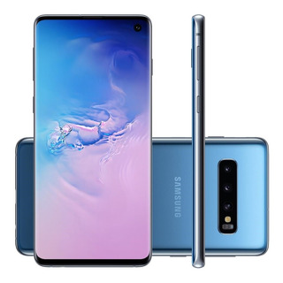 Smartphone Samsung Galaxy S10 Tela 6,1 Azul 128gb