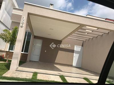 Casa Com 3 Dormitórios À Venda, 105 M² - Condomínio Park Real - Indaiatuba/sp - Ca1838
