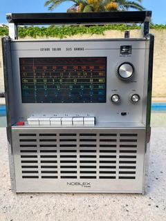 Radio Noblex 7 Mares Antigua Vintage En Buenas Condiciones