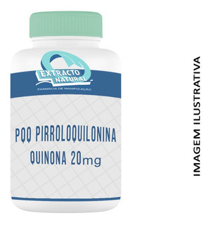Pqq - Pirroloquilonina Quinona 20mg 180 Cáps- Envio Em 24hrs