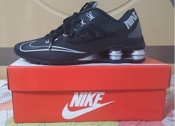 Tenis Nike Shox Superfly Preto E Prata Nº43 Original!!!