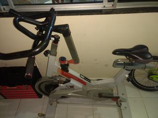 Bicicleta De Spinning Moviment Summer G2, Com Guidão De Mtb