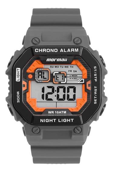 Relógio Digital Mormaii Action Cinza Monf007/8c
