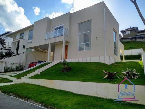 Casa Localizada Em Quintas De São Fernando Com 3 Dormitórios À Venda, 212 M² Por R$ 890.000 -cotia/sp - Ca1162