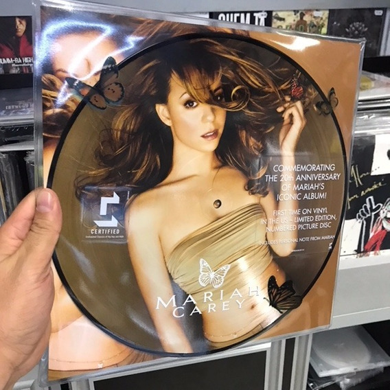 Lp Mariah Carey Butterfly Aniversary The 20th Anniv Picture