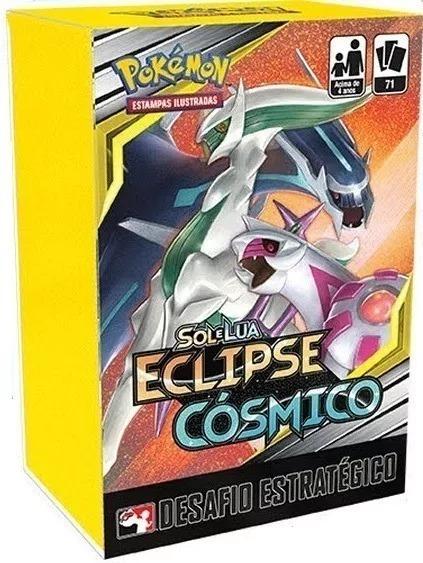Pokémon - Kit Pré Lançamento Sl12 Eclipse Cósmico