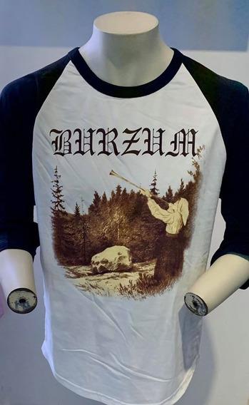Burzum Filosofem Baseball 3/4 T-shirt Merch Official Imp