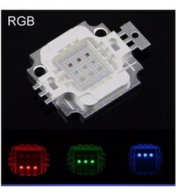Kit 8x Rgb Led Chip 10w -12v