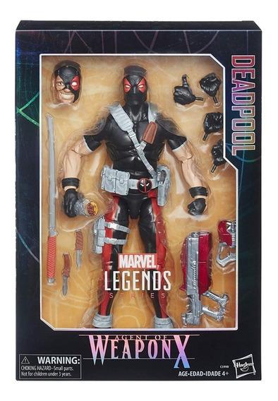 Deadpool Marvel Legends Deluxe 12 Pulgadas