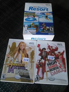 Juegos Originales Wii Usados