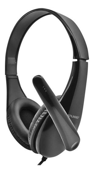 Headset Business Multilaser Conexão P2 Preto - Ph294