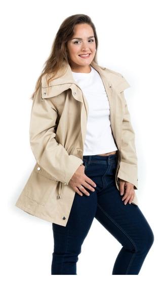 Campera Impermeables Abrigo Polar Mujer Piloto
