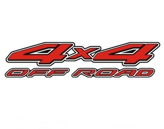 Emblema Adesivo 4x4 Nissan Frontier Off Road