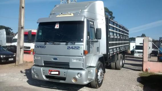 Cargo 2422 - Ano 2007 - Carroceria Graneleira Ano 2017