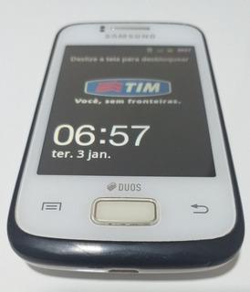 Celular Samsung Galaxy Young Duos Branco Usado Completo