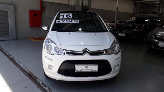 Citroën C3 1.6 Vti 16v Exclusive Flex Aut. 5p 2016
