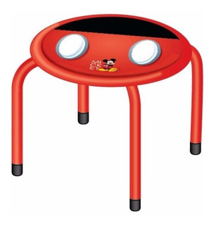 Banquito Infantil Redondo Mickey Minnie Peppa Disney